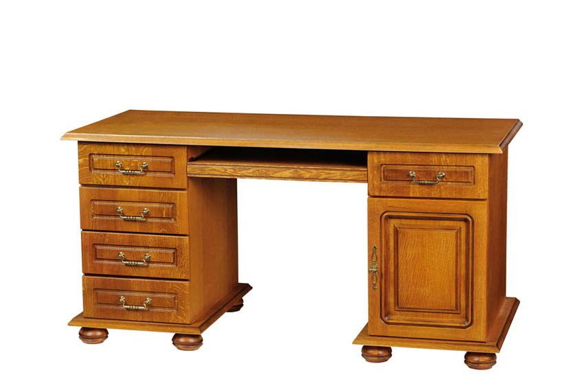 """Белорусская мебель - стол письменный """"денвер"""" вмф-6233."""